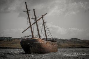 Shipwreck of the 'Lady Elizabeth'