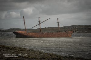 Shipwreck of the 'Lady Elizabeth'
